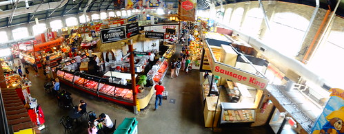 Pano from the St Lawrence Market Mezzanine, 2017 07 07 -a (1)