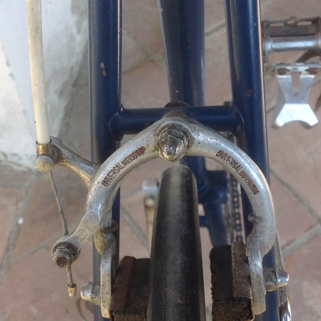 Bicicletta d'epoca da corsa Marco Giuntelli - fine '48 inizio '49 - freni Universal Brev.
