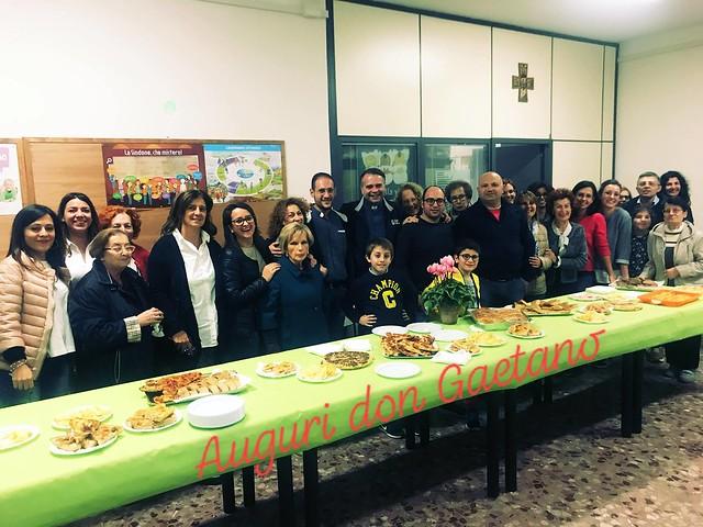 La festa con la ComunitÖ parrocchiale della Chiesa Matrice