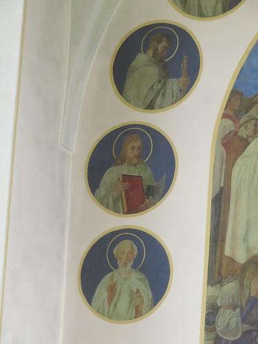 20170929 02 505 ostbay Rattenberg Kirche Apostel Medaillions Bilder Santiago
