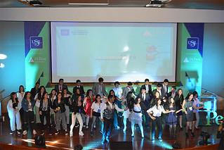 El martes 30 de octubre, se celebró la clausura del programa La Compañía 2.0 de Junior Achievement Perú, y se premió a las mejores empresas conformadas por alumnos de 4.° año de secundaria.