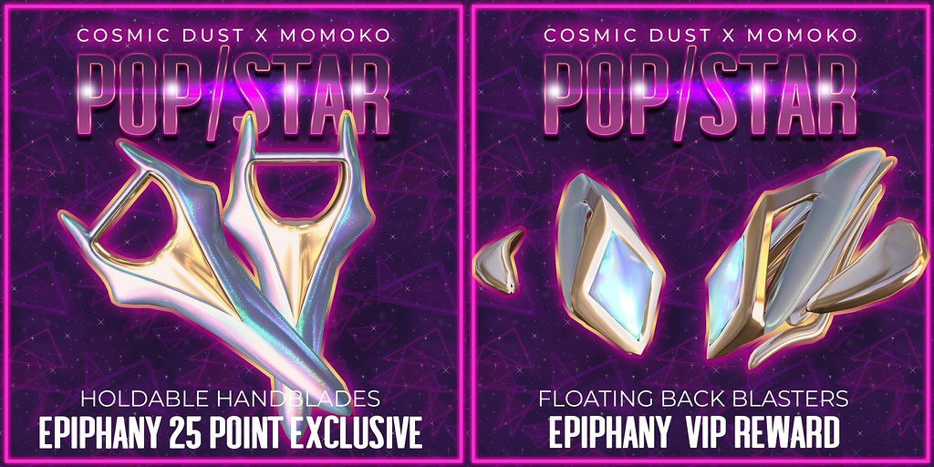 Cosmic Dust x Momoko – Pop/Star VIP and Exclusive Rewards