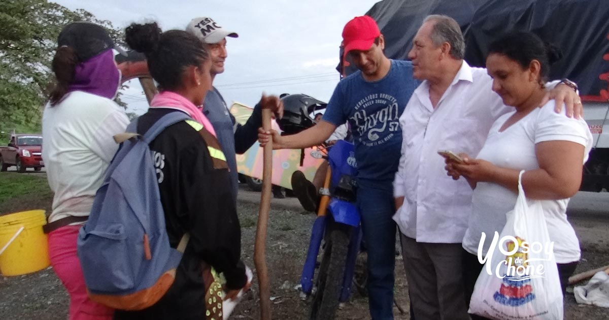 15 familias de Barquero y Horconcitos fueron asistidas tras inundación