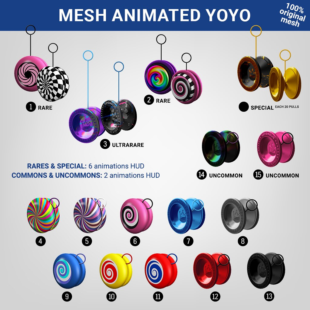 SEmotion x Libellune Mesh Animated YoYo @ Limit8