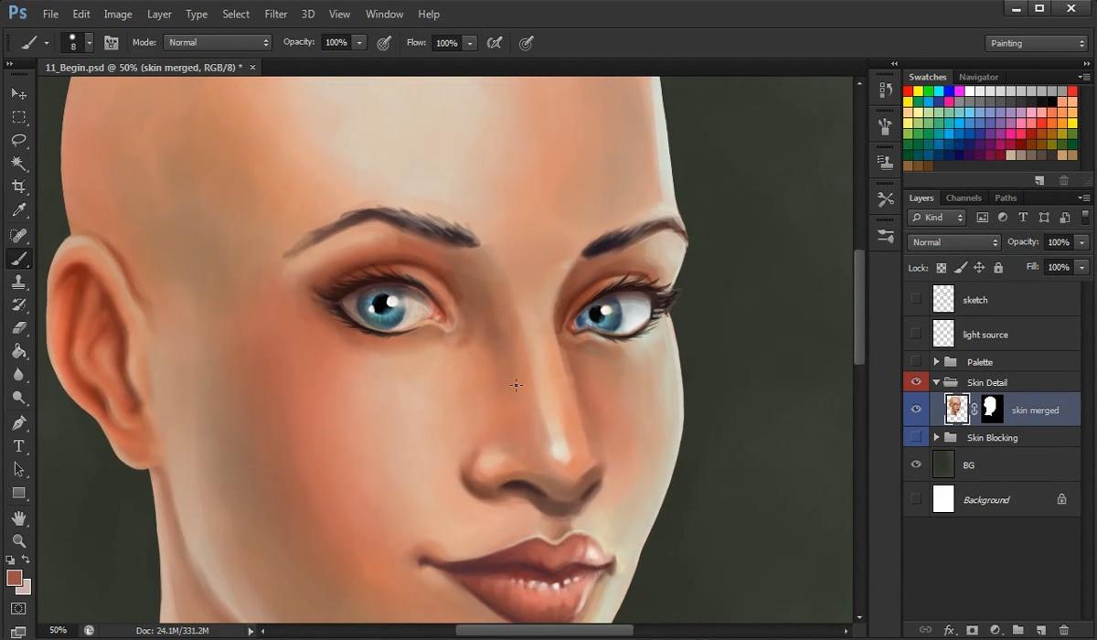 Как рисовать в Фотошоп