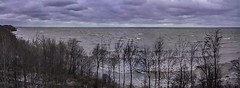 Cold Winds Roiling the Lake