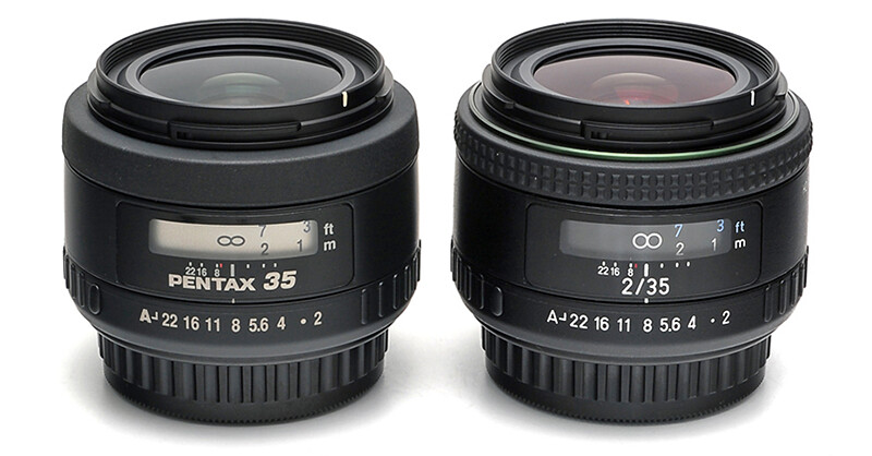 First preview photos of new HD PENTAX-FA 35mm F2 – Comparison with smc PENTAX-FA 35mm F2 AL