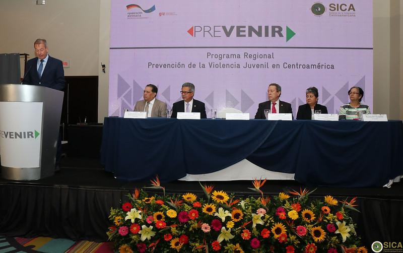 SG SICA, Vinicio Cerezo participa en evento de cierre del Programa Regional Prevención de la Violencia Juvenil en Centroamérica (PREVENIR) impulsado por Cooperación Alemana