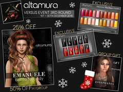 ALTAMURA @ VERSUS Event 3rd Round (1st - 30th Dec 2018) Ad
