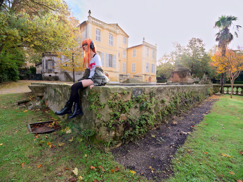related image - Shooting Persona 5 - Futaba Sakura - Jardin de la Magalone -2018-11-10- P1388463