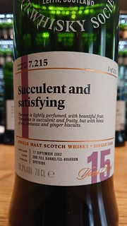 SMWS 7.215 - Succulent and satisfying
