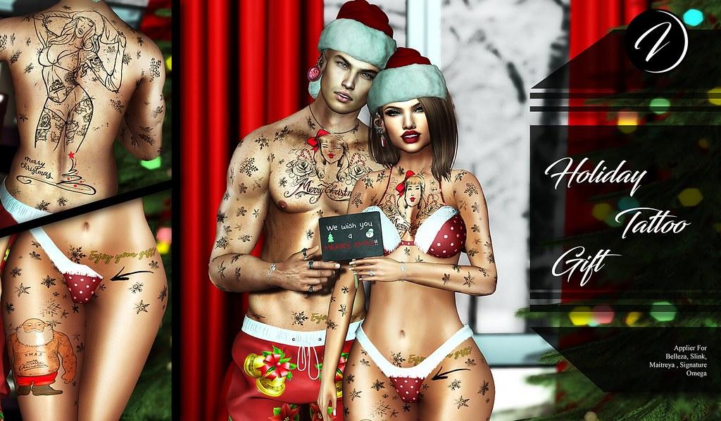 ..:: INKer ::.. Holiday Tattoo Gift - TeleportHub.com Live!