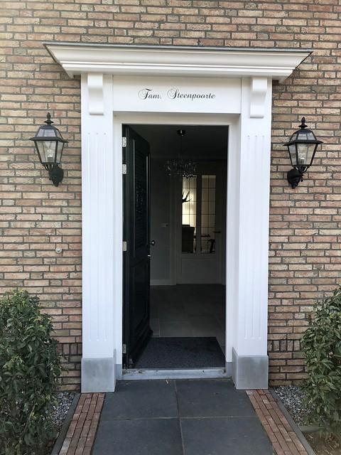 Voordeur entree notariswoning