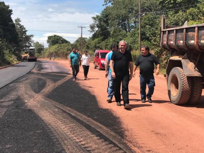 Asfaltamento Santarém-Pindobal