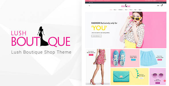 Lush Boutique v1.1 – WordPress Shop Theme
