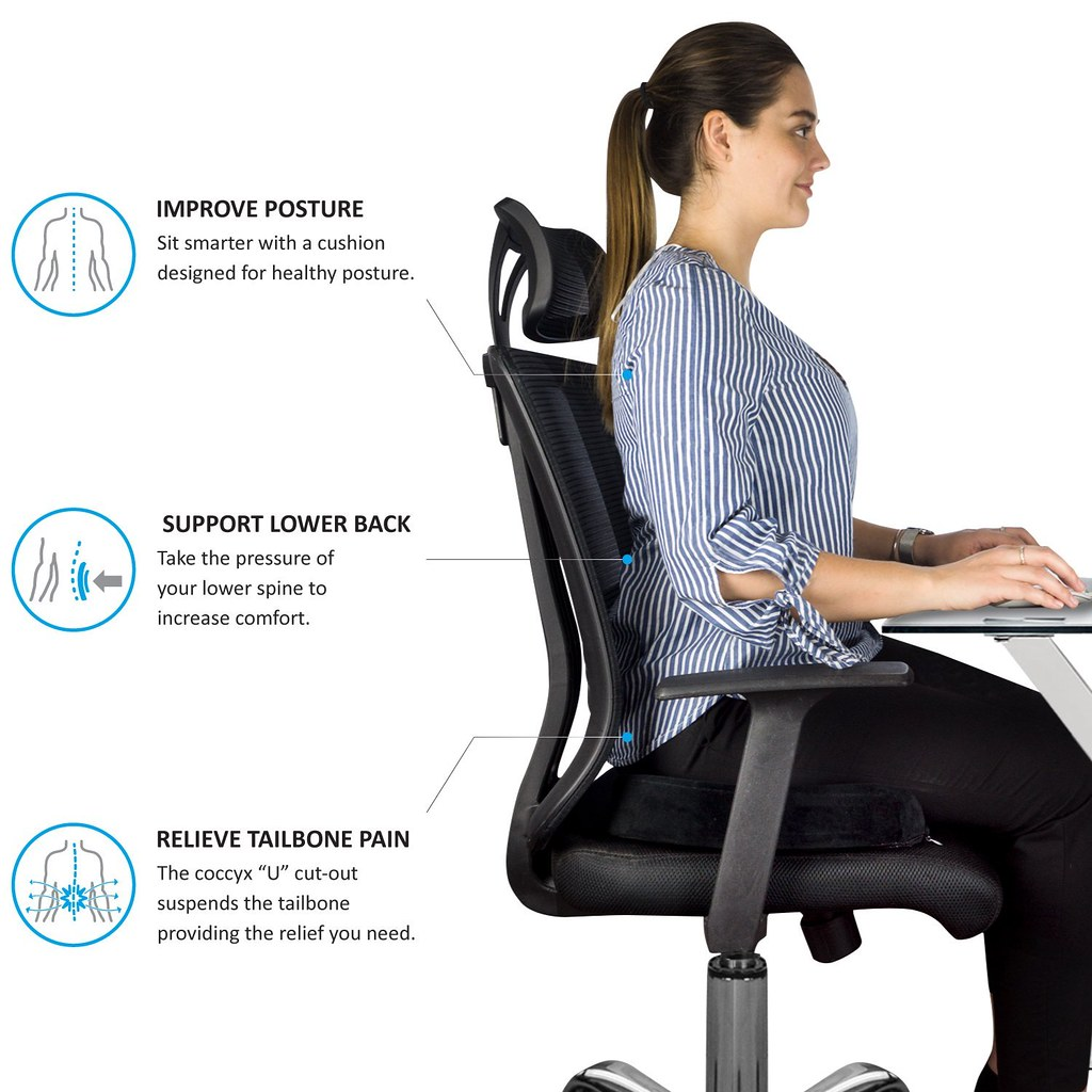Magnificent An Ergonomic Office Chair Is Great For A Tailbone Pain Home Interior And Landscaping Ologienasavecom
