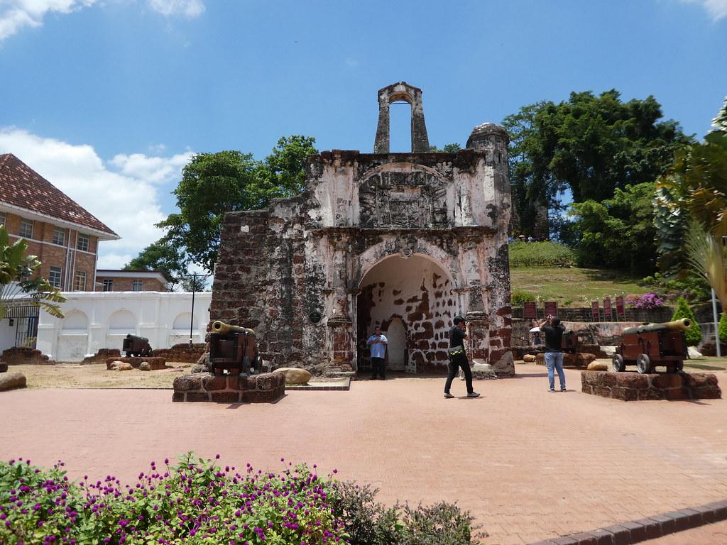 Al Famosa Fortress, Malacca