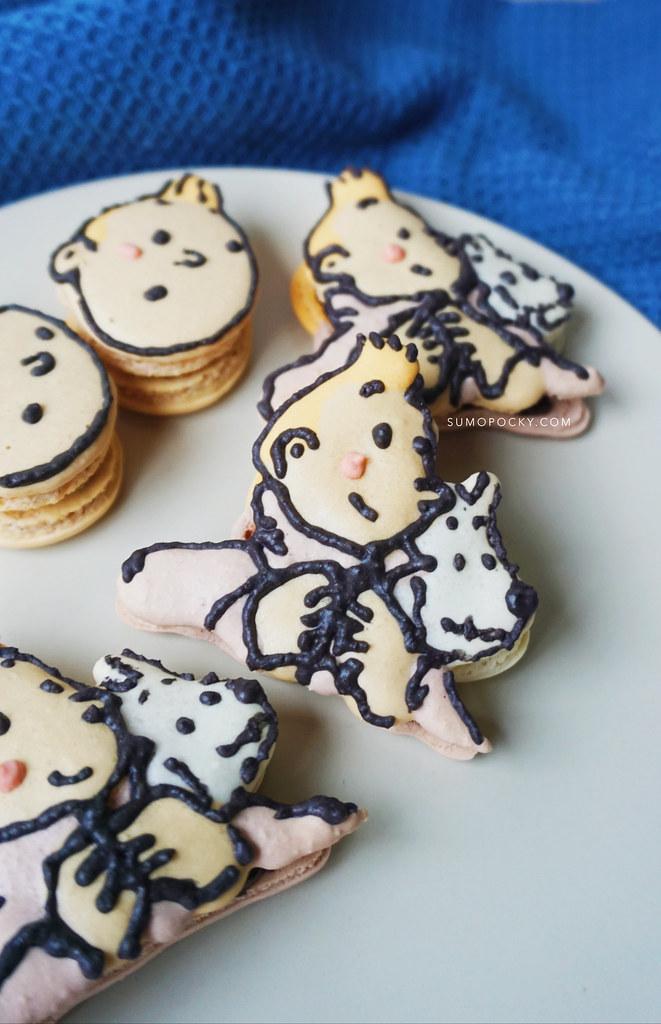 Tintin Macaron Recipe