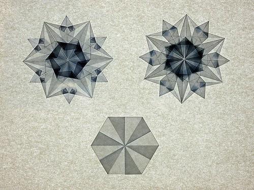Origami Snowflake (Dáša Ševerová)