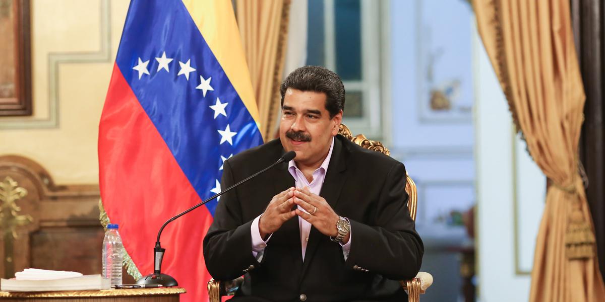 Presidente Maduro recibe al personal diplomático que retornó de los Estados Unidos