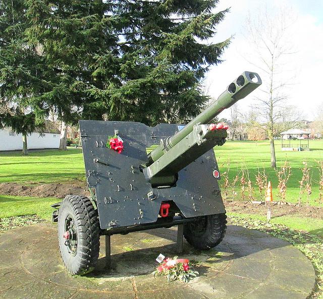 Royal Regiment of Artillery Memorial Field Gun, Oswestry