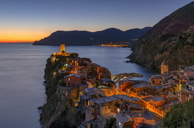 *Vernazza @ golden hour*
