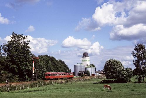 Schienenbus in Beringstedt