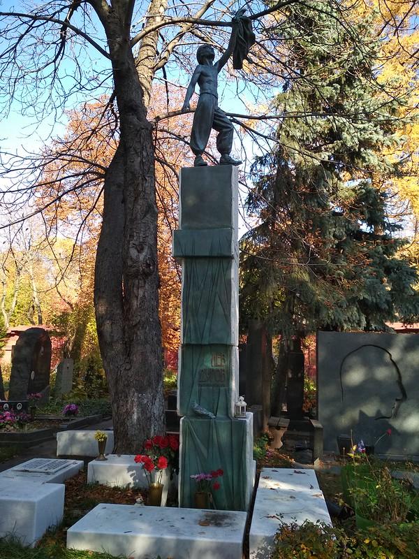 Москва - Новодевичье кладбище - Лев Дуров