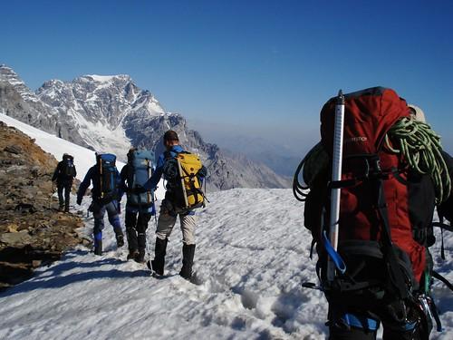 Ortler, Gletsjertocht
