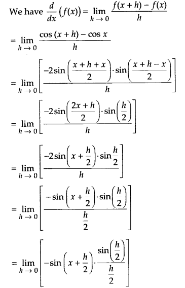 NCERT Solutions for Class 11 Maths Chapter 13 Limits and Derivatives 83