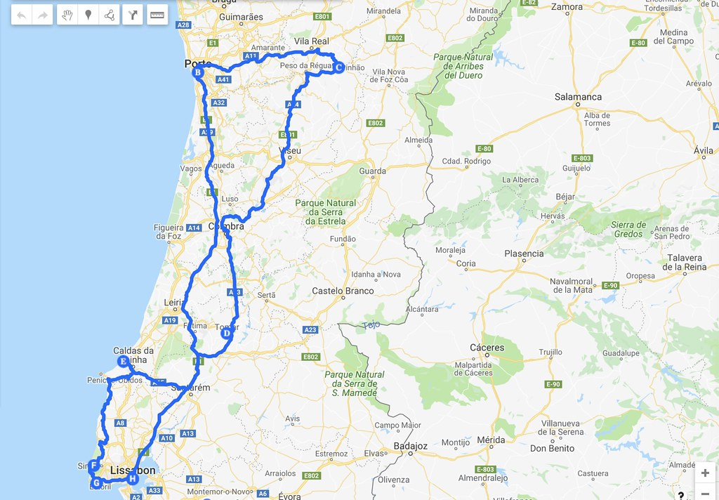 Portugalin Road Trip