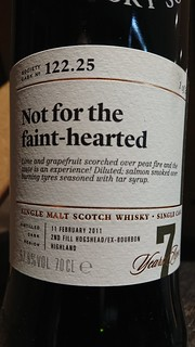 SMWS 122.25 - Not for the faint-hearted