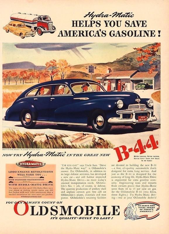 1942 Oldsmobile B-44
