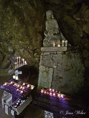 la Sainte Baume (le sanctuaire la grotte de Marie Madeleine) dans le Var-18-cliche Jean Weber