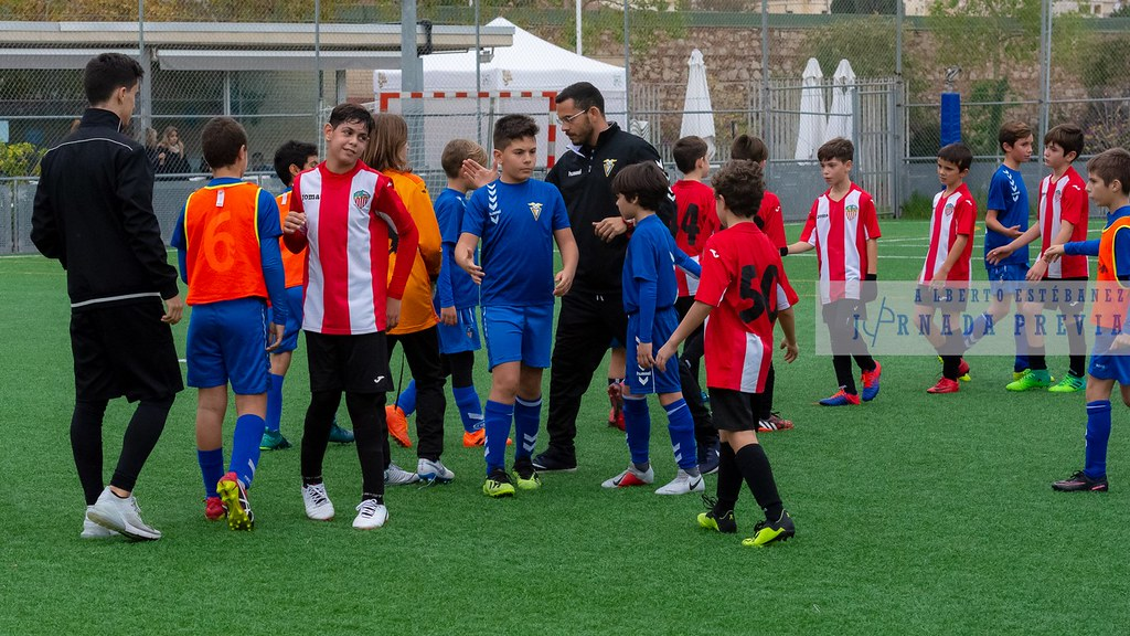 At Poble Nou - Alevín F FF Badalona