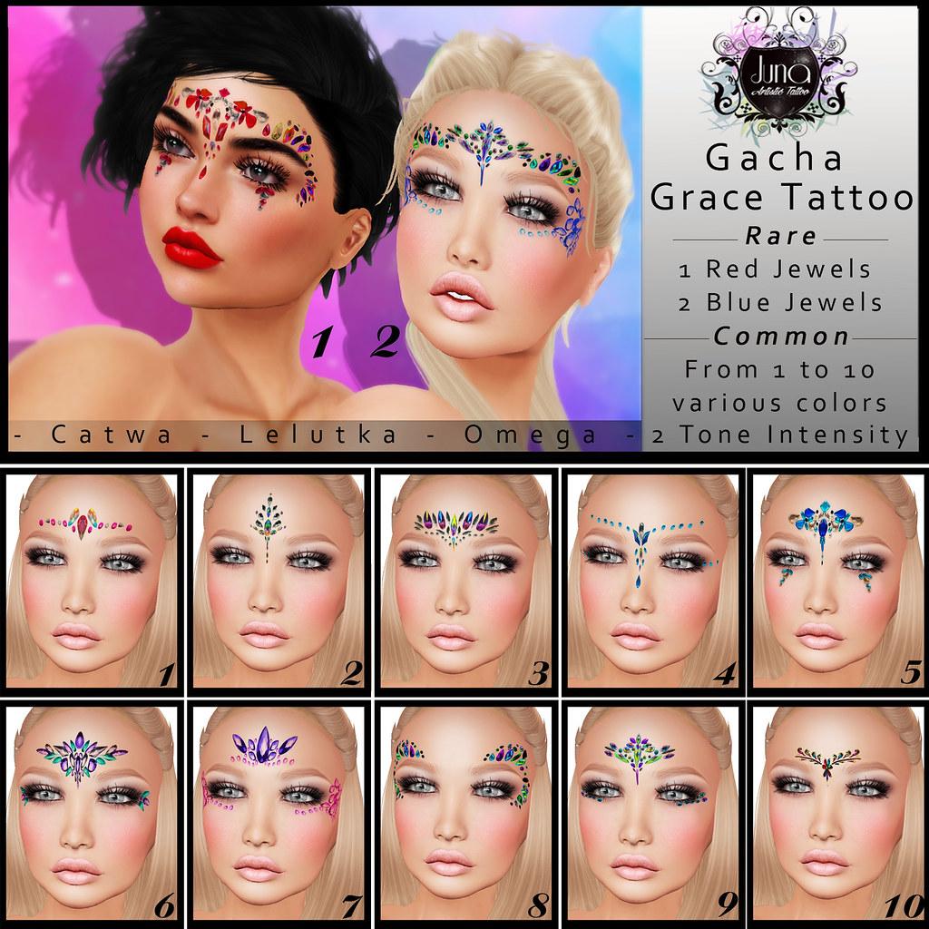 Gacha Grace tattoo - TeleportHub.com Live!
