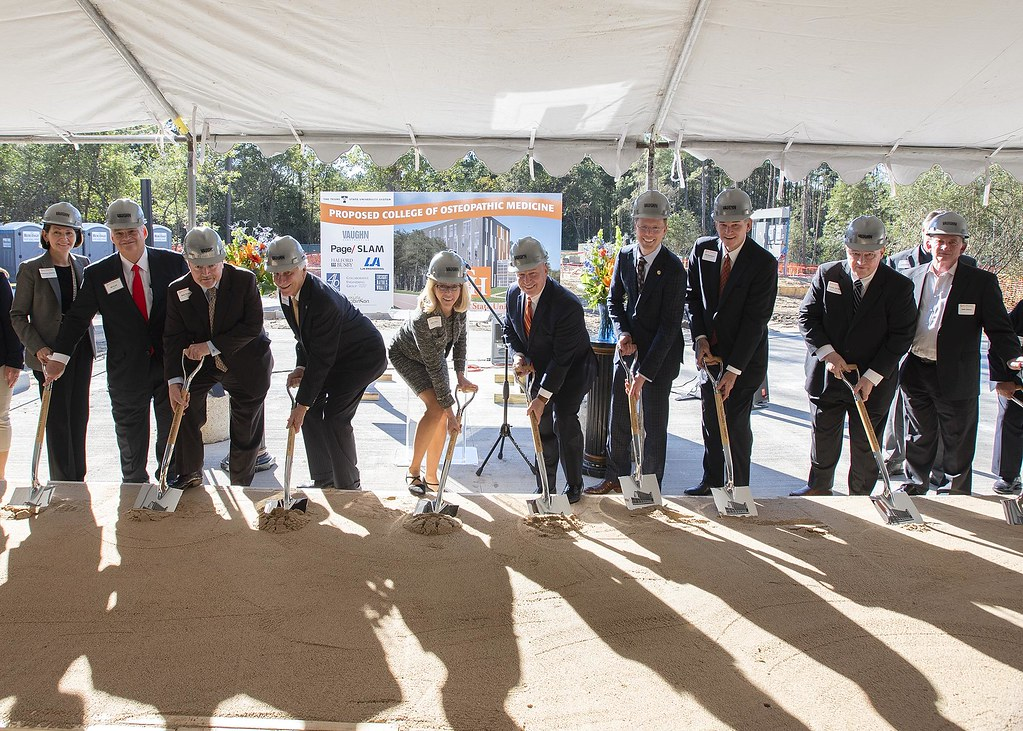 Proposed College of Medicine Groundbreaking Ceremony