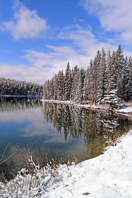 Herbert lake, Nikon D750, AF-S Nikkor 17-35mm f/2.8D IF-ED
