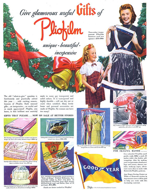 Good Year Pliofilm 1940