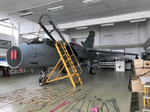(43+34), Panavia Tornado IDS, TSLw1, German Air Force (092/GS014/4034), Kaufbeuren 10th October 2018
