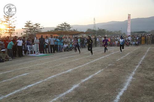 Race by devotees
