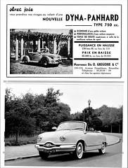 Dyna Panhard 750 & Dyna Z Cabriolets