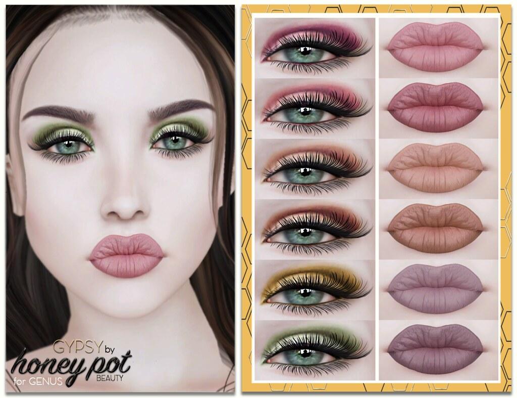 HoneyPot Beauty GENUS Gypsy Collection copy