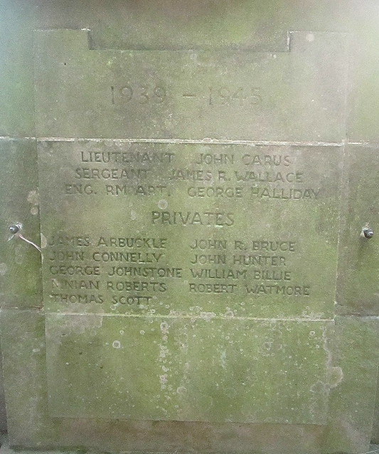 Kirkliston War Memorial 4