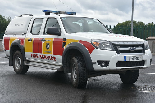 Monaghan Fire Authority 2011 Ford Ranger MFRS L4V 11MN417