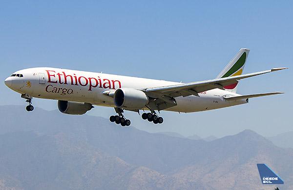 Ethiopian Cargo B777F (Gustavo Martínez)