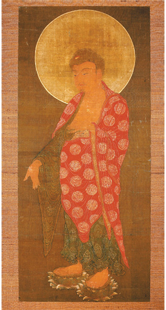 A rare painting of Amitabha from the Museo Delle Civilta in Italy. From koreajoongangdaily.com