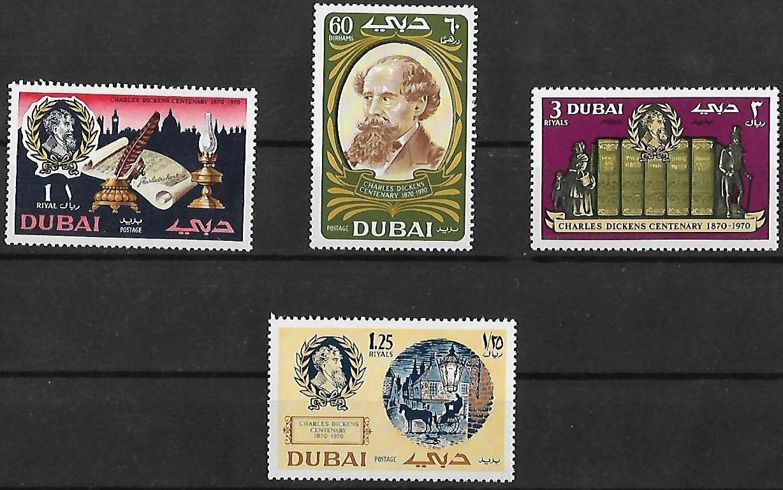 Dubai - Scott #127-130 (1970)