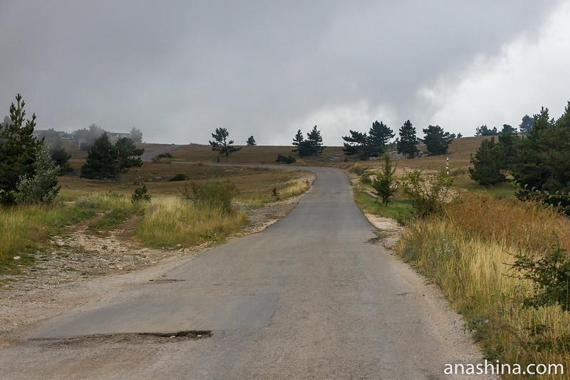 Дорога на вершину Ай-Петри, Крым