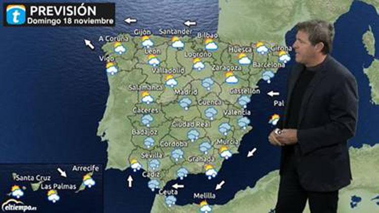 El tiempo: Avisos rojos en el Mediterráneo  por lluvias torrenciales